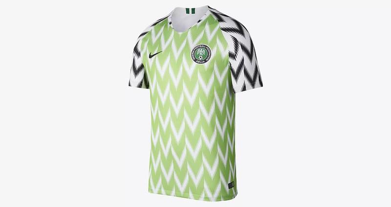 Camiseta Nigeria 2018