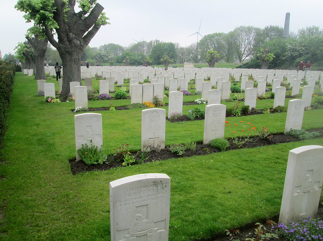 More Graves at Essex Farm Cemetery, Ypres