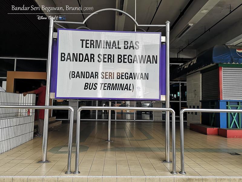 2019 Brunei Trip 04 BSB Bus Terminal