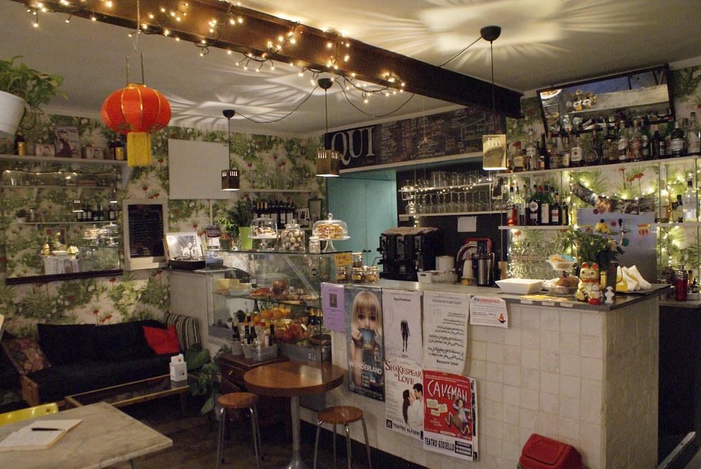 Café Qui in Vanchiglia dans le quartier de... Vanchiglia à Turin