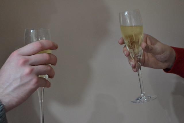 Eggnog + Champagne