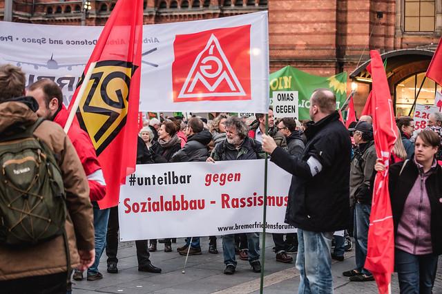 #wirsindmehr Bremen zeigt Gesicht (14. Nov. 18)