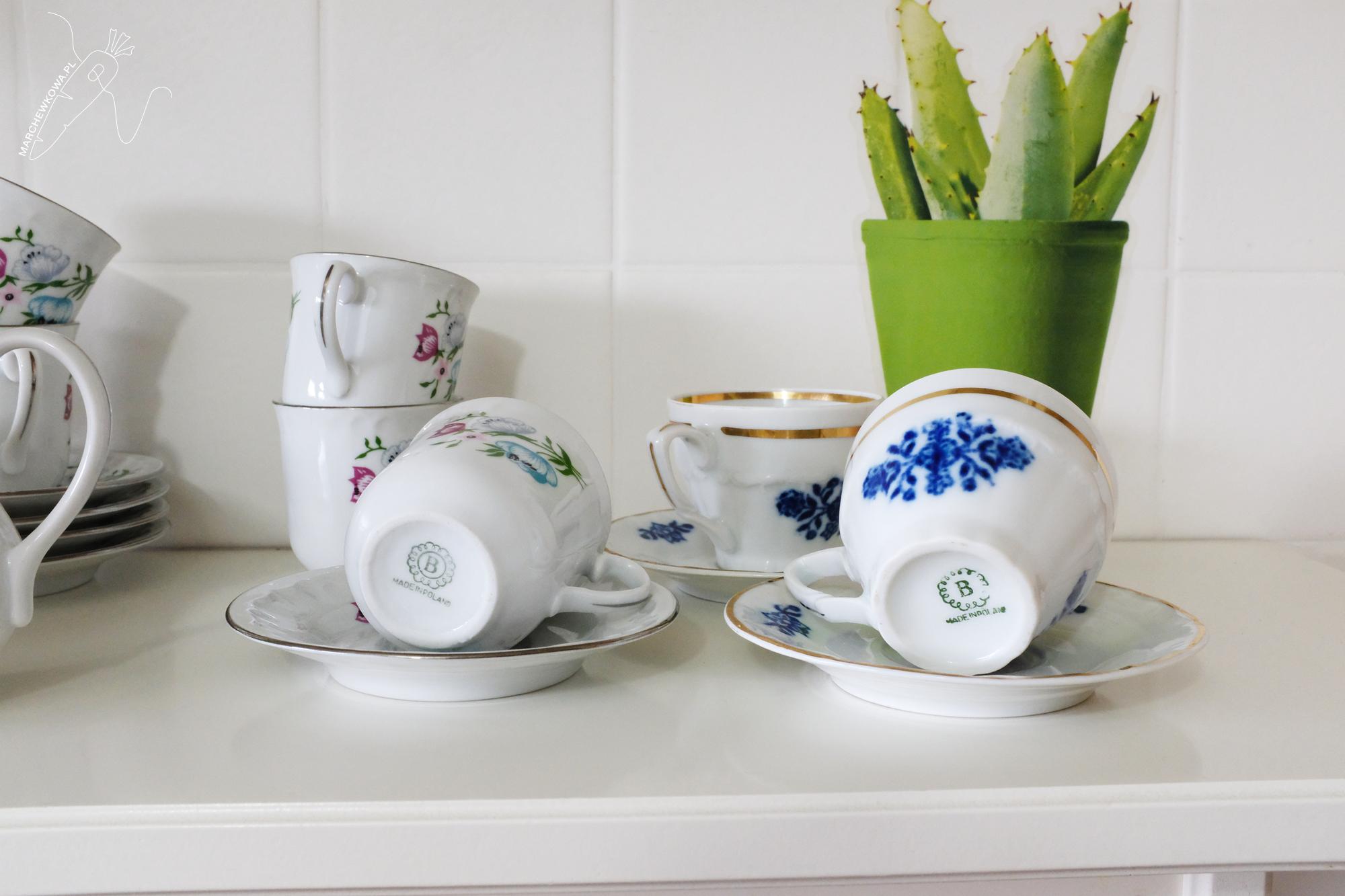 marchewkowa, blog, stara porcelana, porcelain, vintage, 1950s, 1960s, retro kuchnia, Bogucice, Giesche
