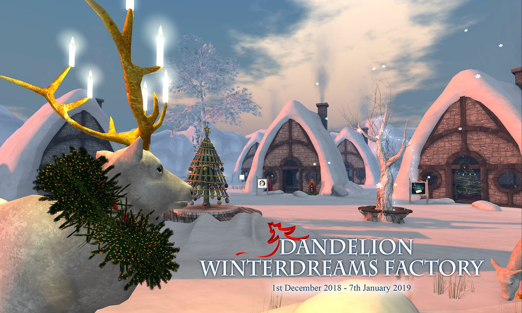 Dandelion Winterdreams Factory - TeleportHub.com Live!
