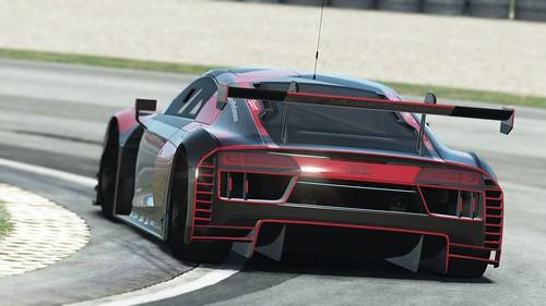 rF2 Audi R8 LMS GT3 Rear
