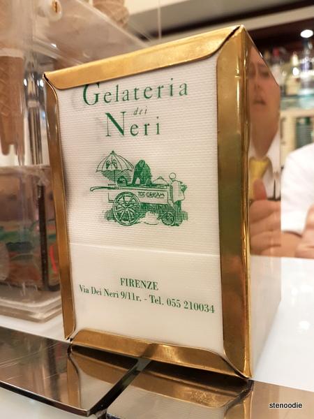 Gelateria dei Neri gelato shop