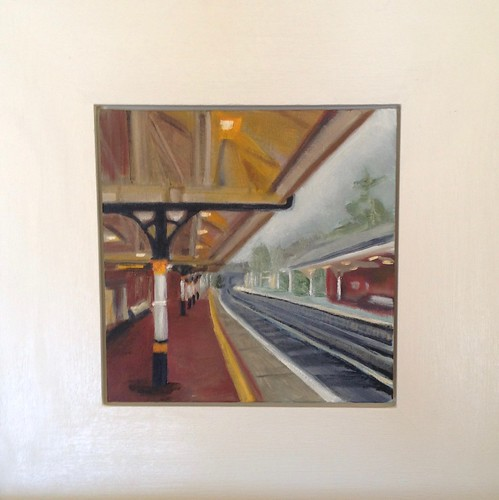 Railway station by Rachel Ward