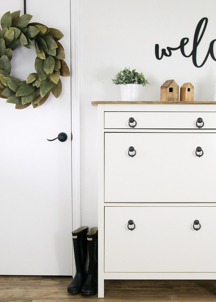 Entryway Decor Storage