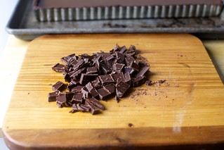 chopped chocolate or chips