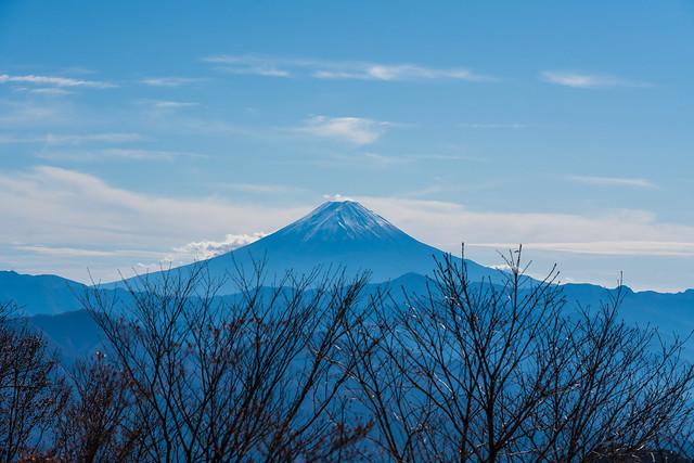 富士山@柳沢ノ頭