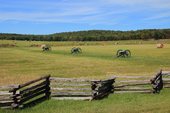 Civil War Artillery, Pea Ridge National Military Park - Benton County, Northwest Arkansas