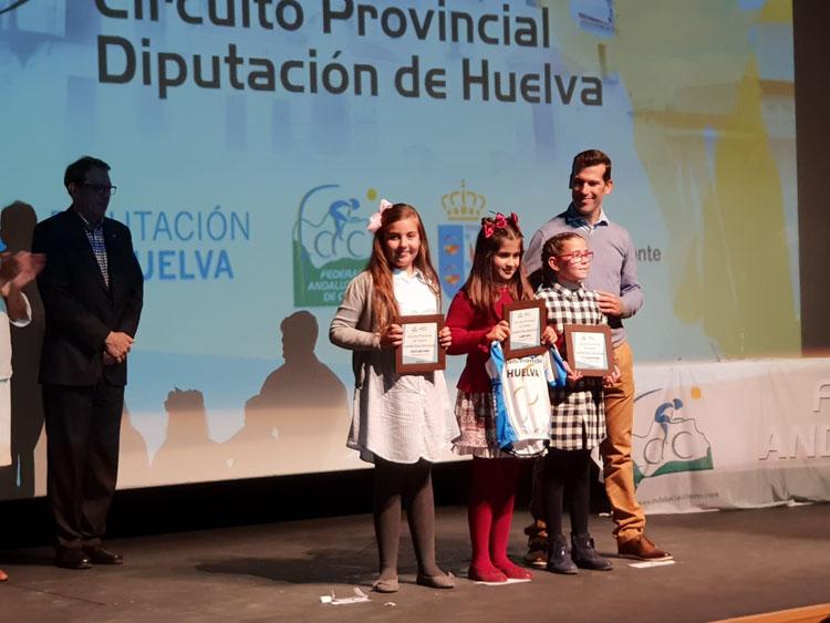 Premios para el ciclismo algecireño en la Gala celebrada en Huelva