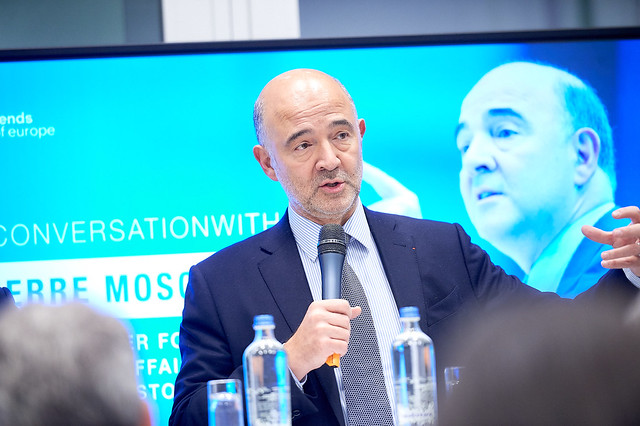 The eurozone: an undefined future? - Conversation with Pierre Moscovici