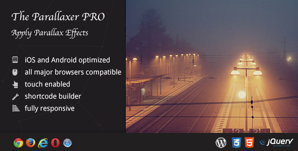 The Parallaxer WP v3.13 – Parallax Effects on Content