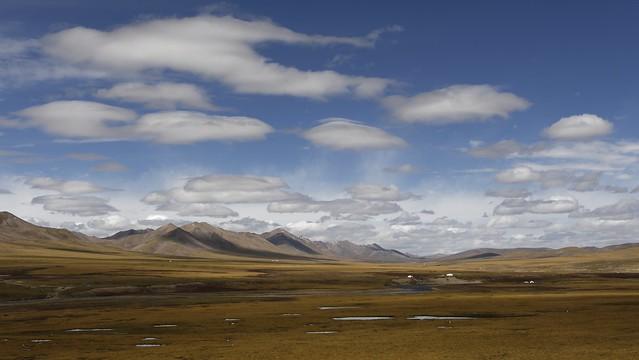 Machen county landscape, Tibet 2018