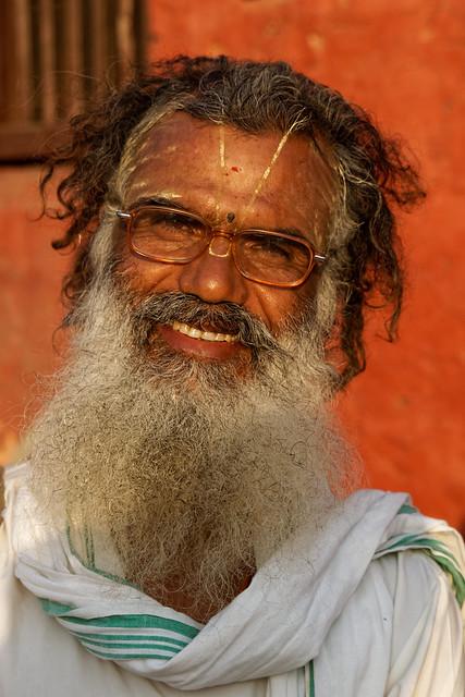 Sadhu at Pashupatinath, a, Sony SLT-A77V, Tamron SP AF 28-75mm F2.8 XR Di LD Aspherical IF