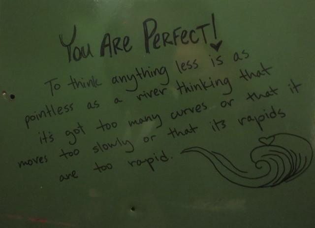 Affirmational graffiti