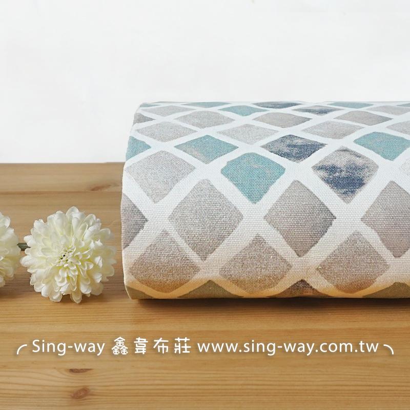 小格 方格 正方形 素面居家風 文青 典雅 CA790084