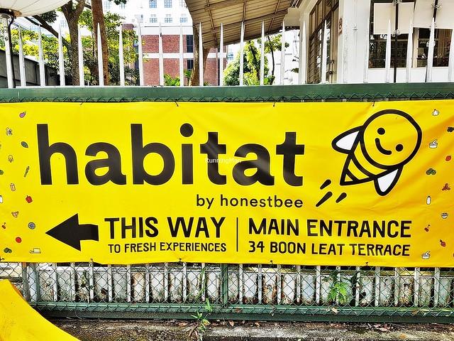 Habitat By HonestBee Signage