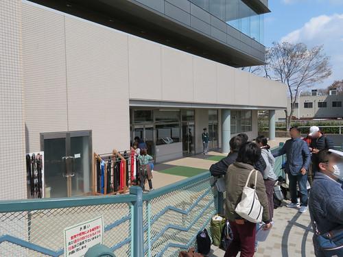 福島競馬場のウィナーズサークル