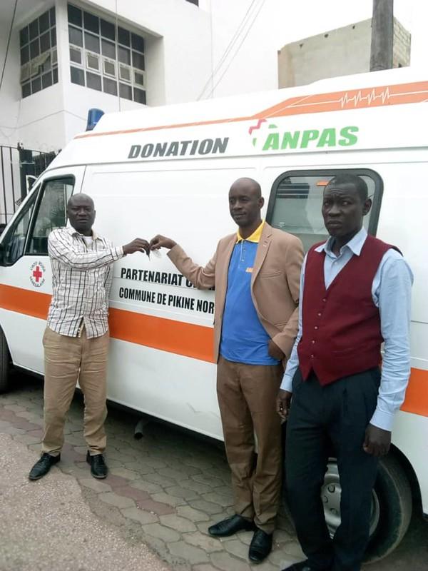Senegal: consegnata l'ambulanza Anpas