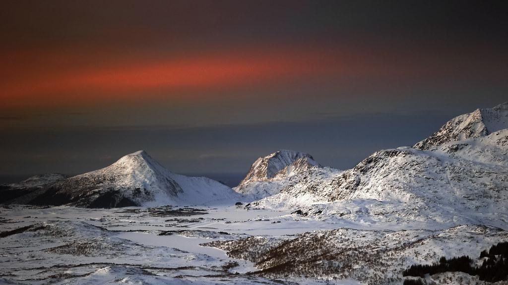 Vinterlyset i Lofoten