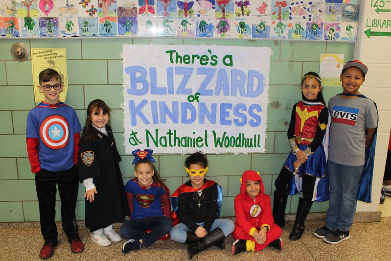 Nathaniel Woodhull Elementary School Kindness Week