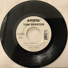 TONI BRAXTON:HIT THE FREEWAY(RECORD SIDE-A)