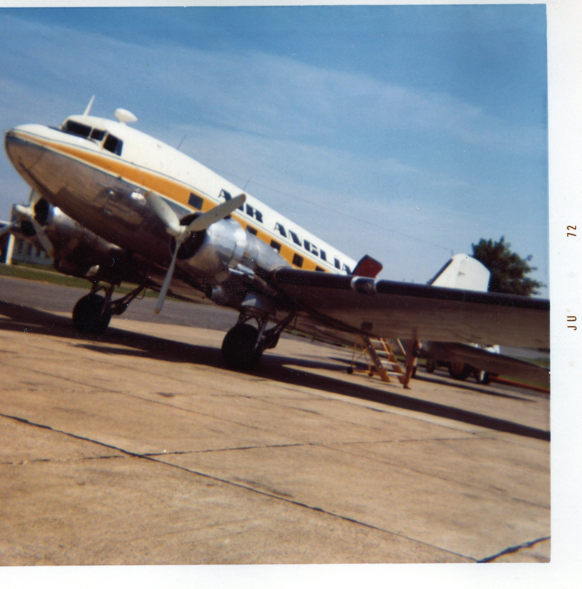 Air Anglia G-AMPZ using Airfix Dak  - Douglas DC-3 / C-47 STGB