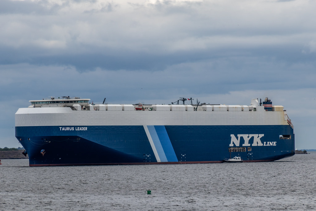 NYK Line Taurus Leader Comes to Baltimore, September 15
