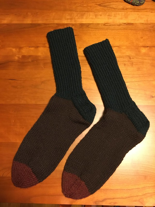 Worsted socks