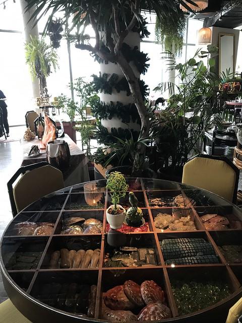 Manila House table