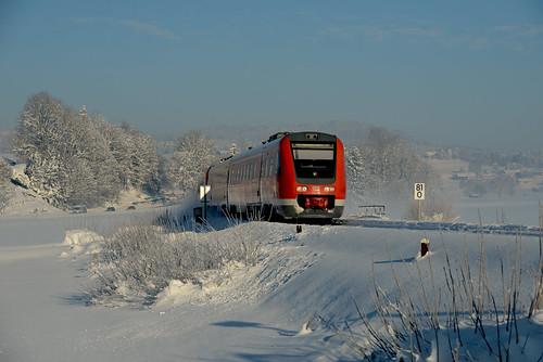 DB 612 118/ 150 Stein im Allgäu