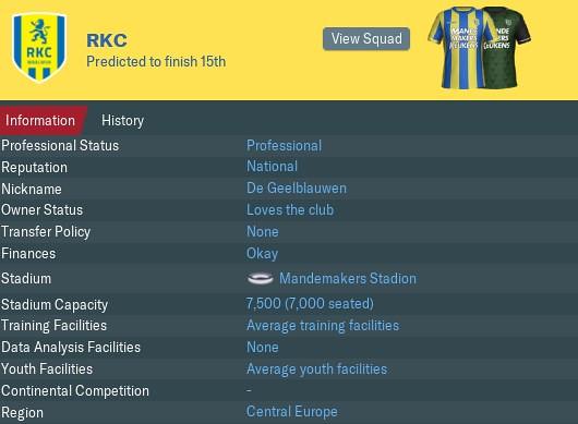 rkc start 1