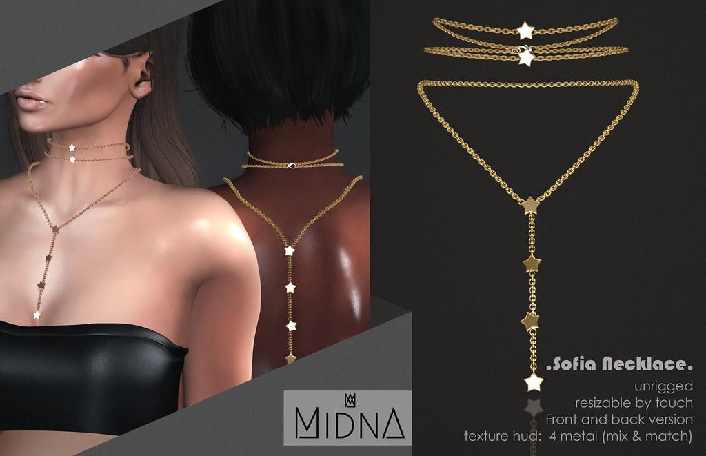 Midna - Sofia Necklace - TeleportHub.com Live!