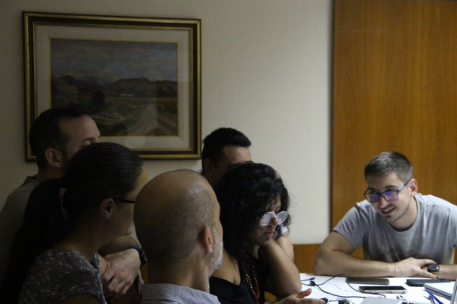 Workshop on video production in Rosario
