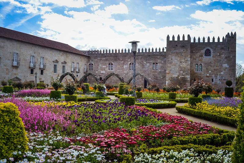 · Jardines de Santa Bárbara, Braga · Qué ver en Braga en un día ·