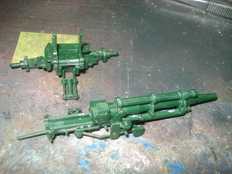 105 mm Howitzer - Revell 50-års jubileums utgåva 46645584822_9bf04b425f_b