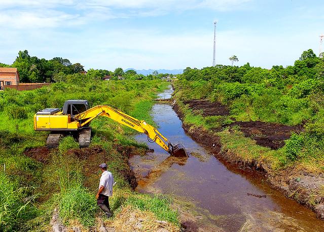 Limpeza do Rio do Poço