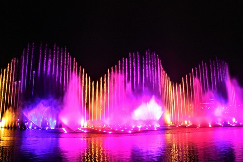 Water show Aquanura in the Efteling