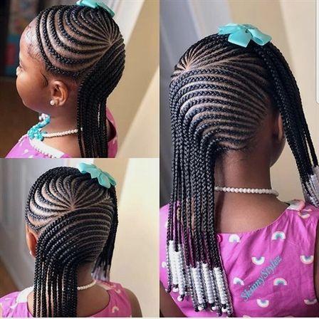 Top 20 Beautiful African Braids Kids Hairstyles 2u