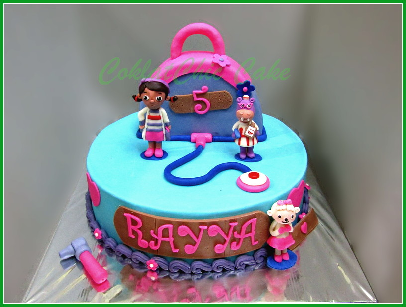 Cake doc Mcstuffin RAYYA 30 cm