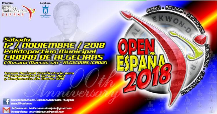 Portada Open España 20185