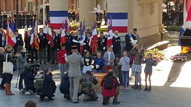 Cérémonie de commémoration du 11 novembre, Toulouse, 2018