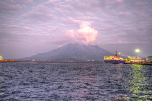 27-11-2018 Kagoshima in evening