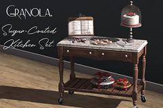 Granola. Sugar Coated Kitchen Set.