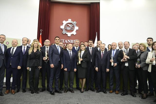 Piri Reis Üniversitesi Deniz Kampüsüne İSO Özel Kategori Çevre Ödülü Verildi.
