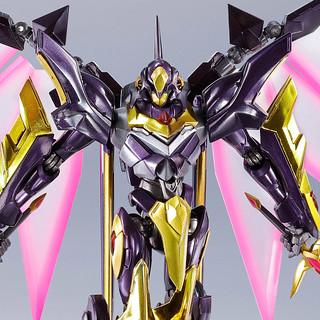 """黑色騎士團""""ZERO""""專用機登場!METAL ROBOT魂 《CODE GEASS 復活的魯路修》<SIDE KMF> 蘭斯洛特.阿爾比昂 ZERO(ランスロット・アルビオン ゼロ)"""