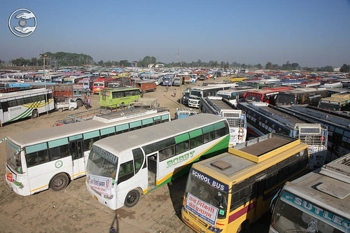 Parking during Samagam at Samalkh Ground