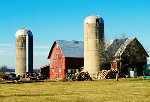 Farm in Hebron, Illinois